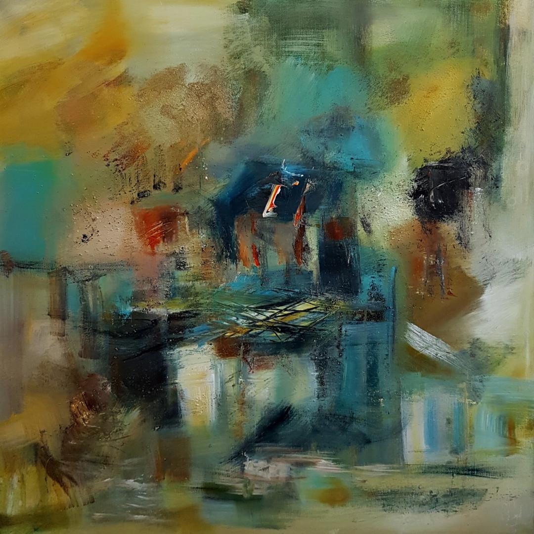 Muriel Cayet - Le temps des jeunes lunes - Collection privée