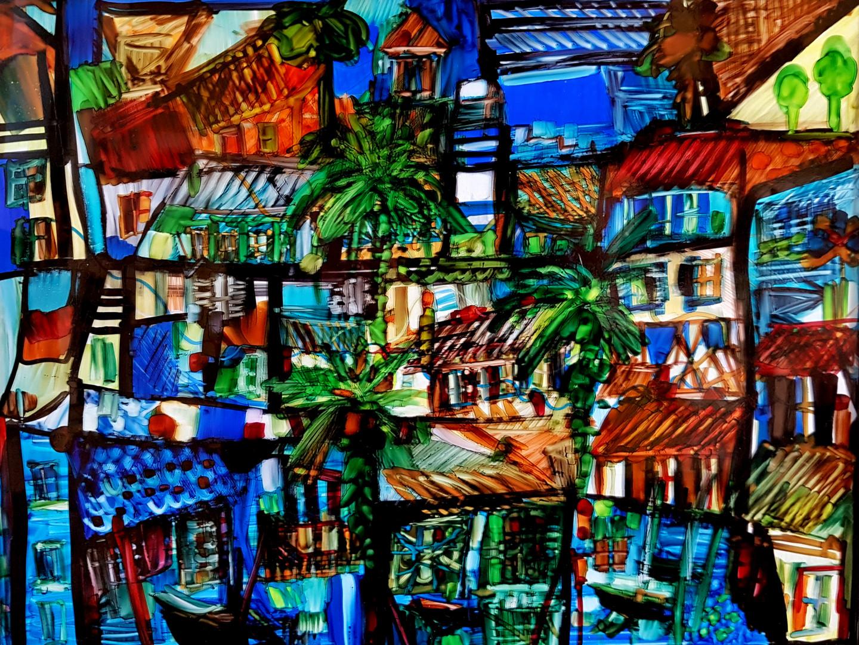 Muriel Cayet - Invitation Caraïbes