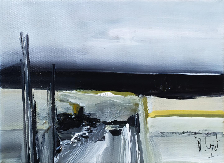 Muriel Cayet - D'or et d'horizon - Collection privée