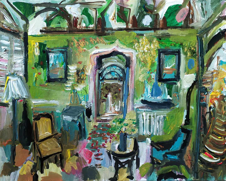 Muriel Cayet - Le havre du navigateur - Collection privée