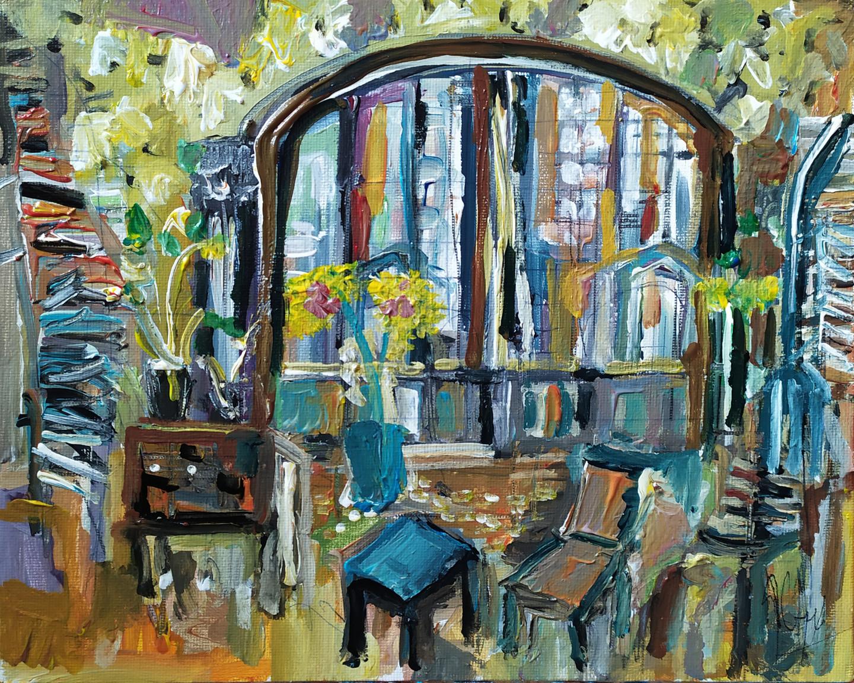 Muriel Cayet - La verrière art déco