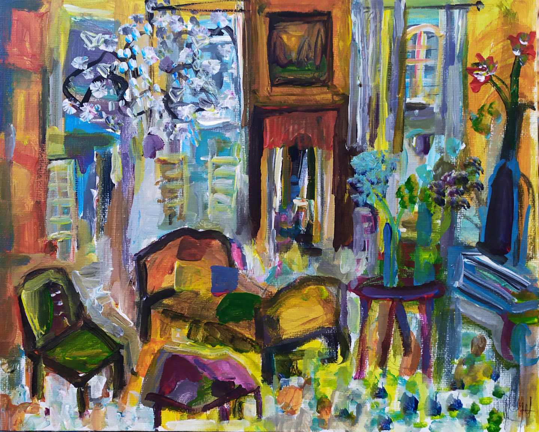 Muriel Cayet - Le repos bleu