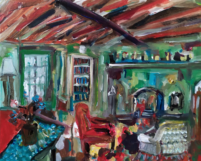 Muriel Cayet - Virginia's home