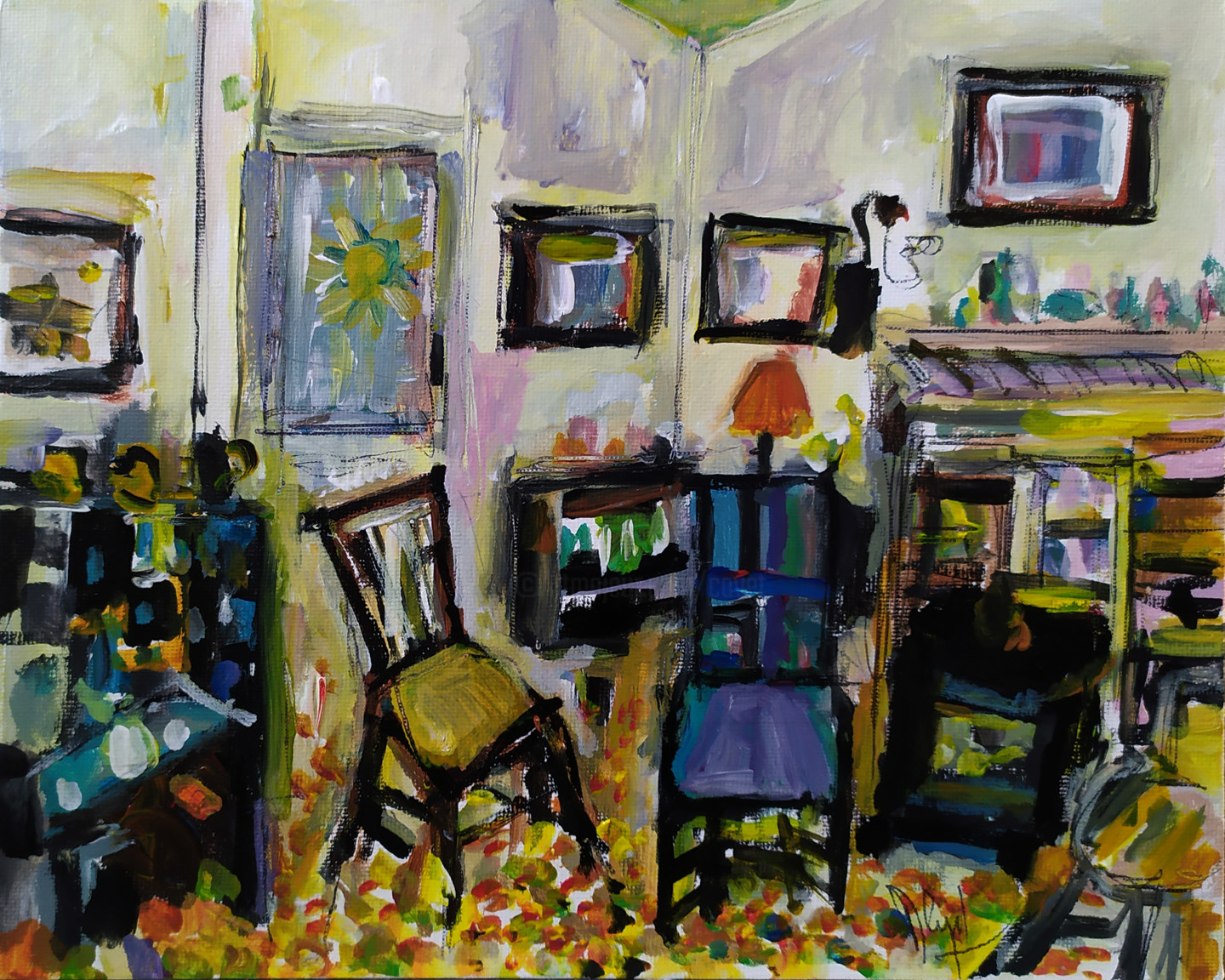 Muriel Cayet - Marguerite Y. at home