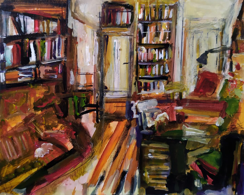 Muriel Cayet - Le bureau d'Hadrien
