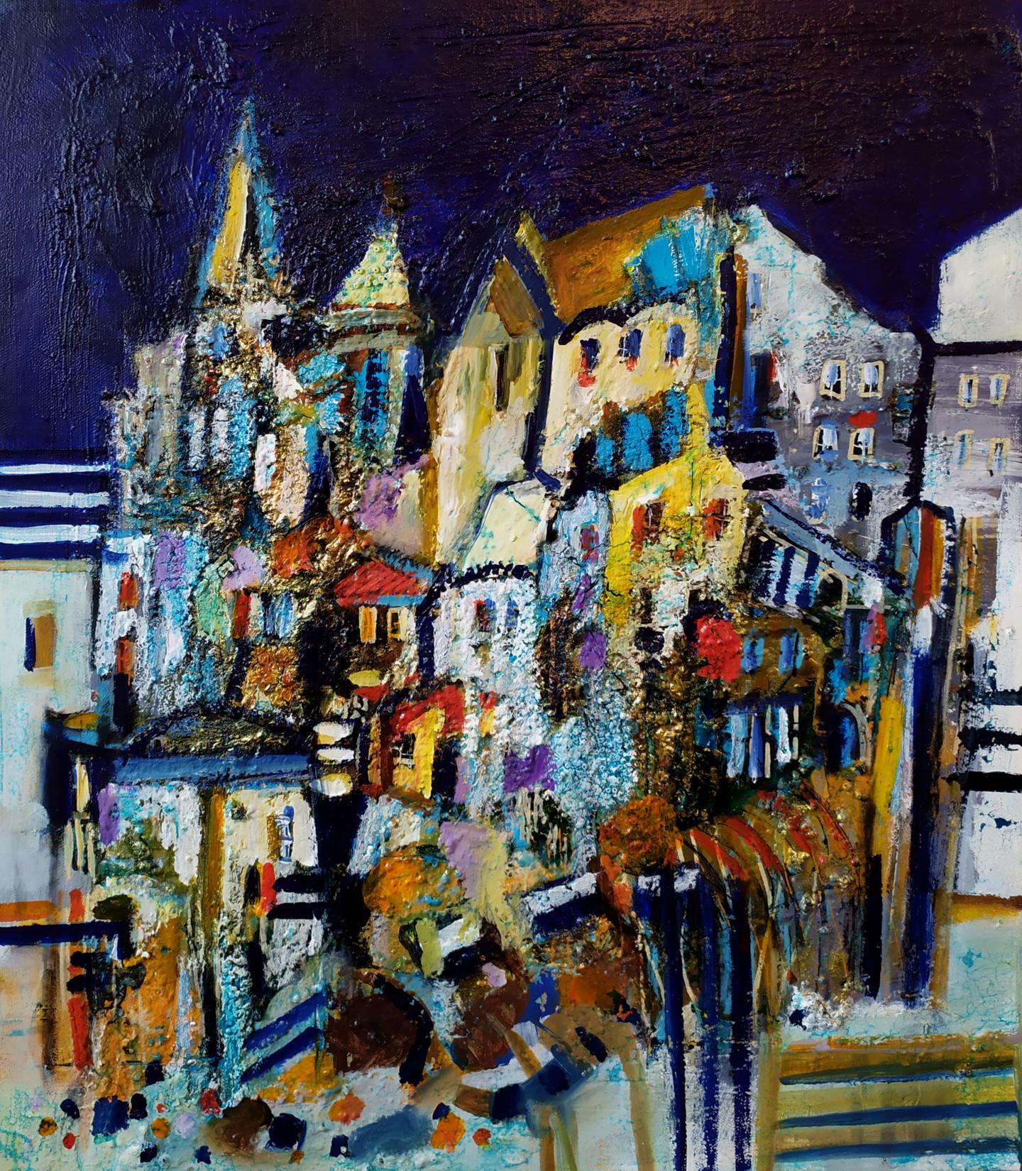 Muriel Cayet - Nachtstadt