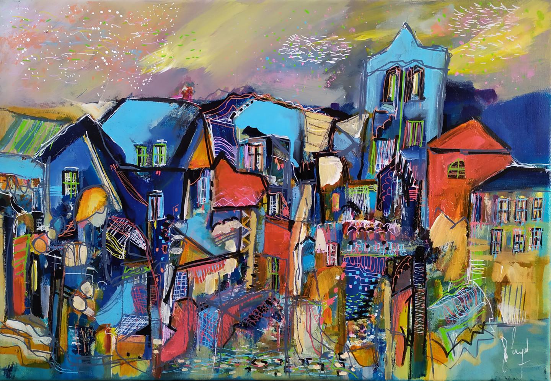 Muriel Cayet - Tensegrity village