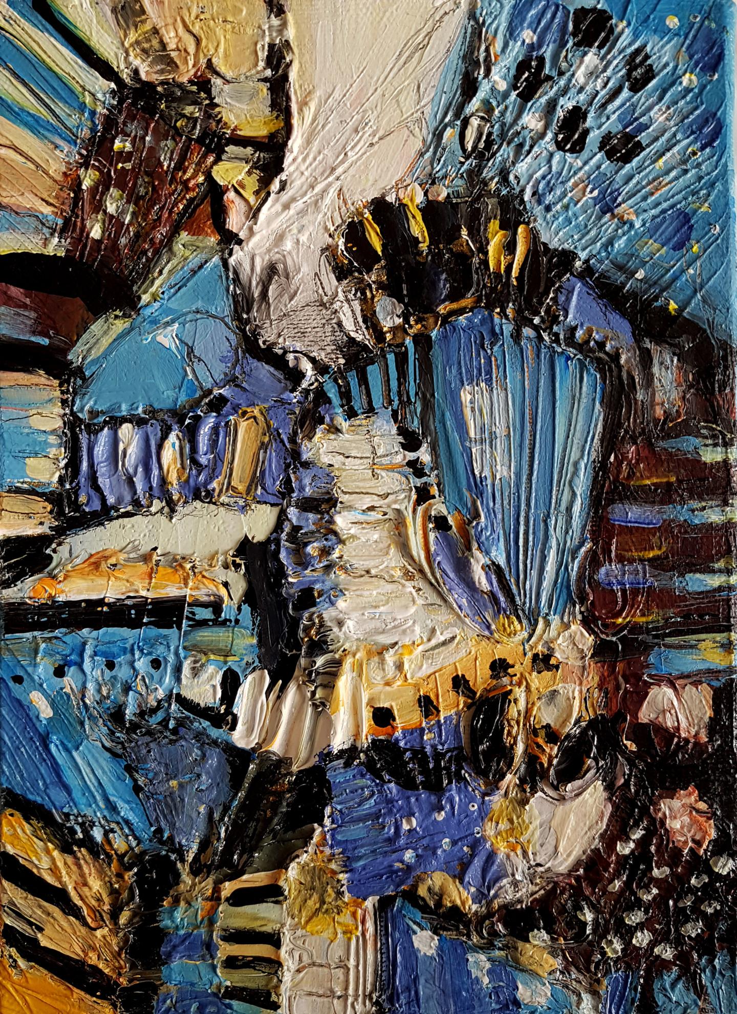Muriel Cayet - L'orchestre