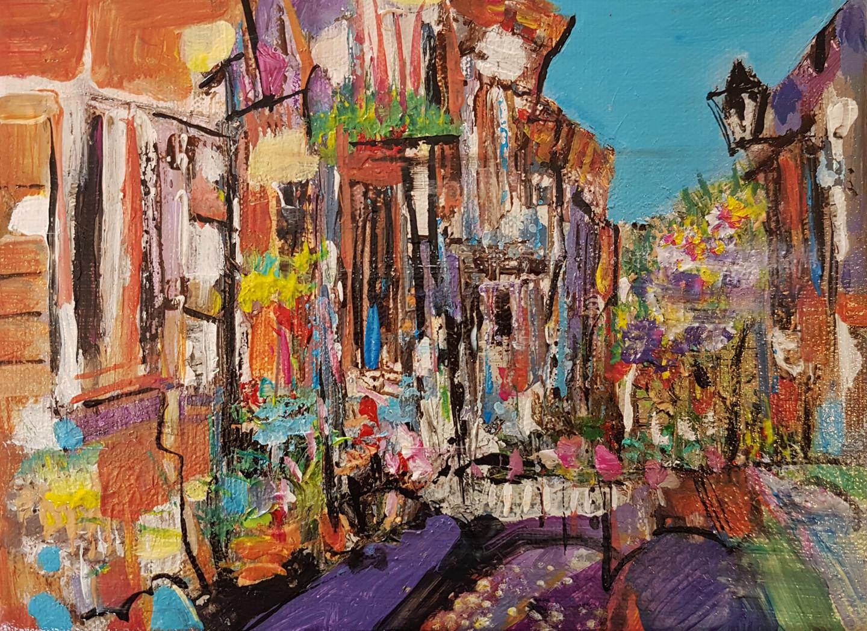 Muriel Cayet - Apprendre des villages