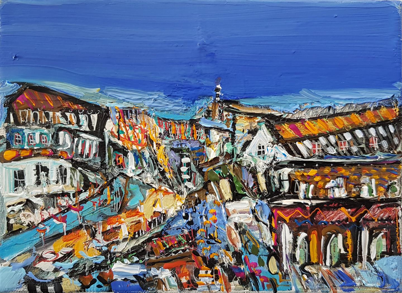 Muriel Cayet - La péninsule des vagues