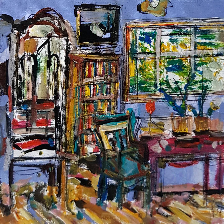 Muriel Cayet - Aux frontières de l'atelier