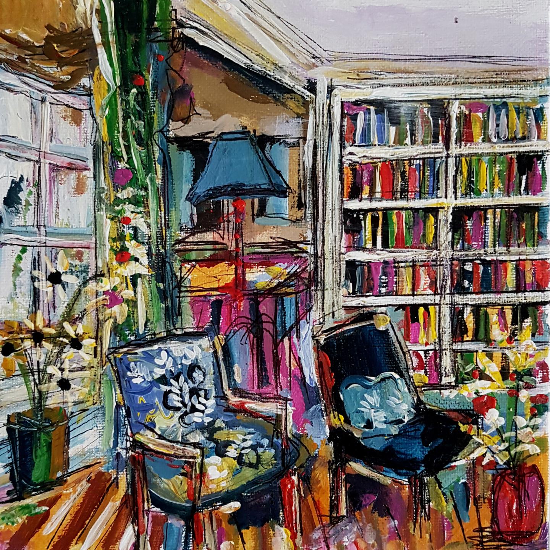 Muriel Cayet - Un besoin de bibliothèques