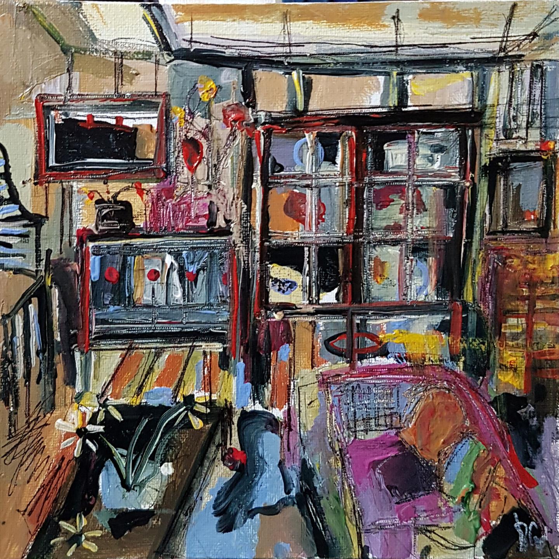 Muriel Cayet - Fenêtre sur découverte