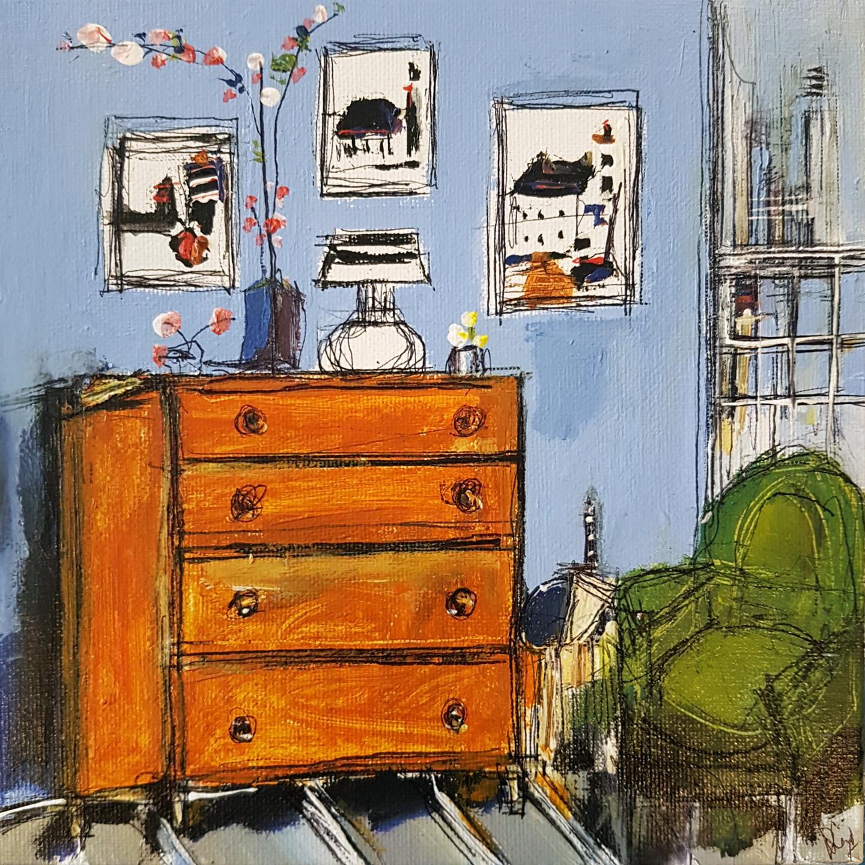 Muriel Cayet - Le fauteuil vert II