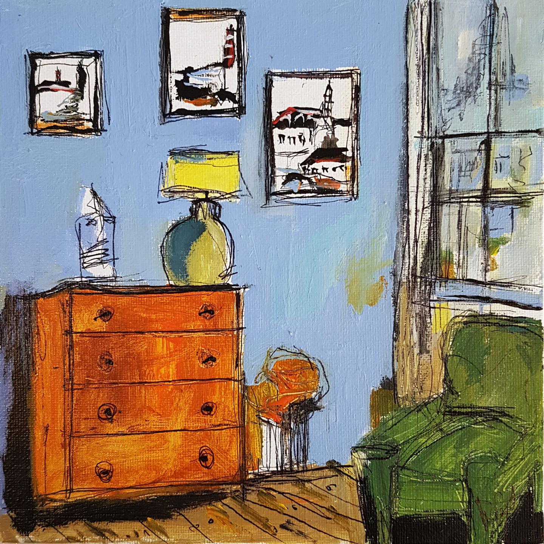 Muriel Cayet - Le fauteuil vert I