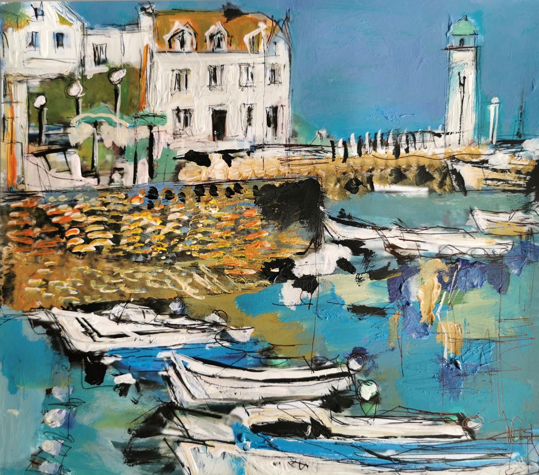 Muriel Cayet - Comme la marée montante - Collection privée