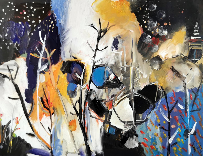 Muriel Cayet - Les fragments du silence