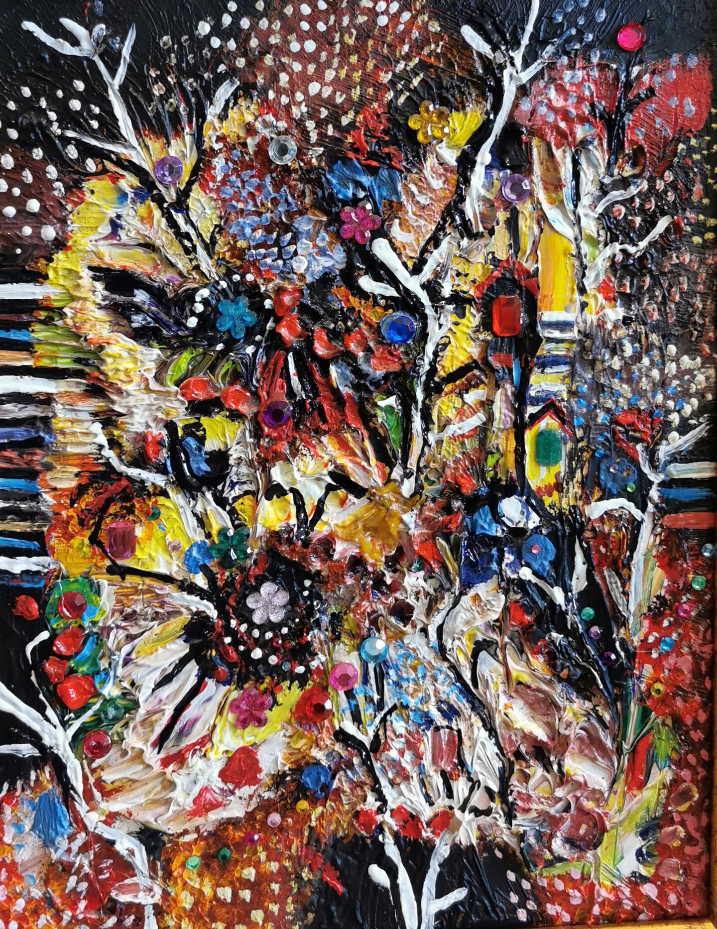 Muriel Cayet - Arbres du temps du rêve