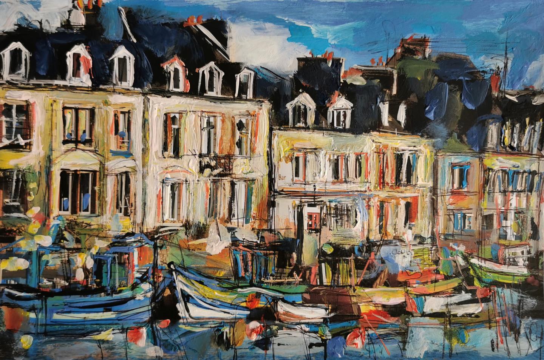 Muriel Cayet - A quai - Collection privée