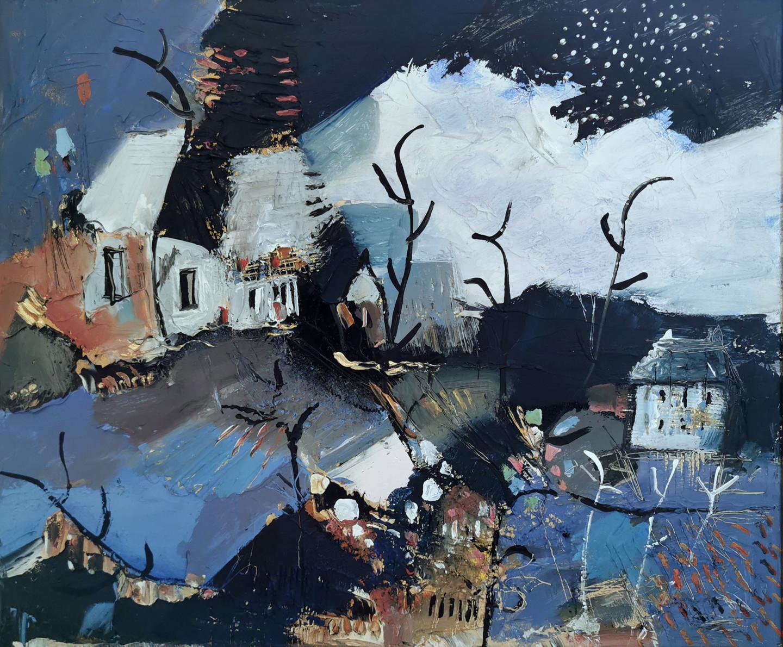 Muriel Cayet - Scène bleue