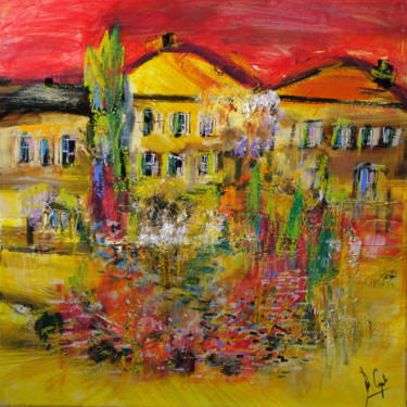 Toscana in rosso e giallo