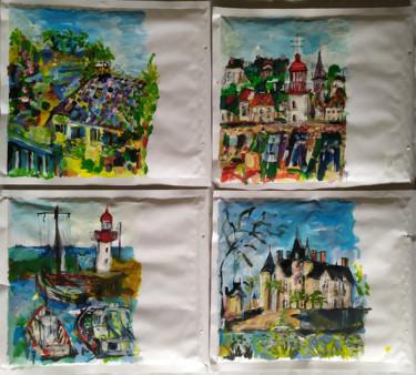 Peindre surtout ! Mail art- Enveloppes 22 x 26 cm