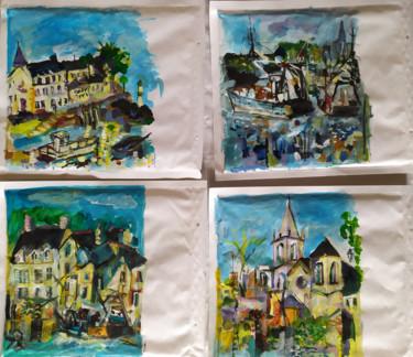 Peindre surtout ! Mail art 2-Enveloppes 22 x 26 cm