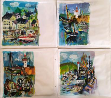 Peindre surtout ! Mail art 3-Enveloppes 22 x 26 cm