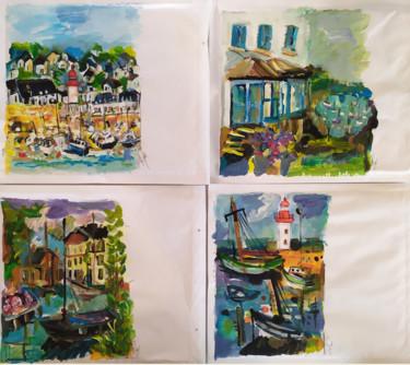 Peindre surtout ! Mail art 4-Enveloppes 22 x 26 cm