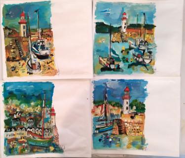 Peindre surtout -  Mail art- Enveloppes 22 x 26 cm