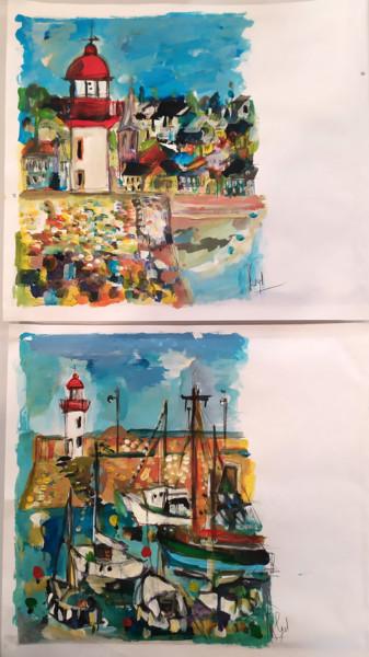 Peindre surtout ! Mail art 6-Enveloppes 22 x 26 cm