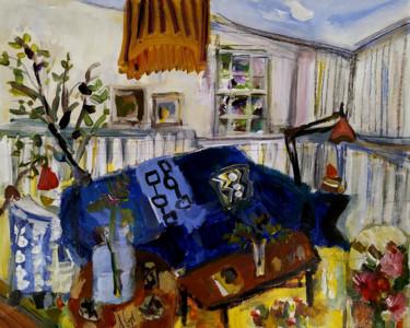 Salon bleu pur - Collection privée