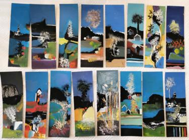 Marque-pages aux couleurs de fin d'été II