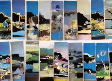 Marque-pages aux couleurs de fin d'été IV