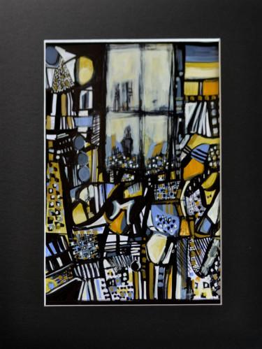 Fenêtre sur Ostende art déco