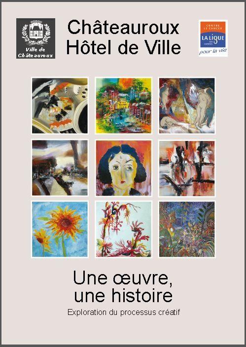 Exposition collective au profit de La Ligue contre le Cancer - Châteauroux - Octobre 2013