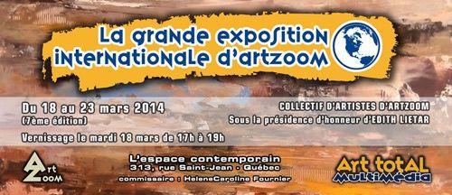 La Grande Exposition Internationale d'Art Zoom