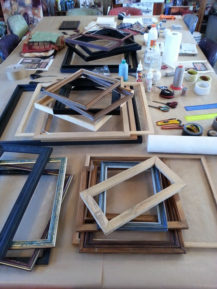 Un atelier autour du cadre