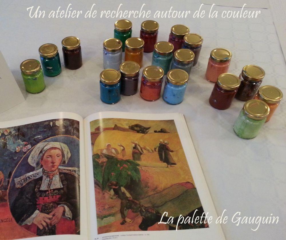 La palette de gauguin