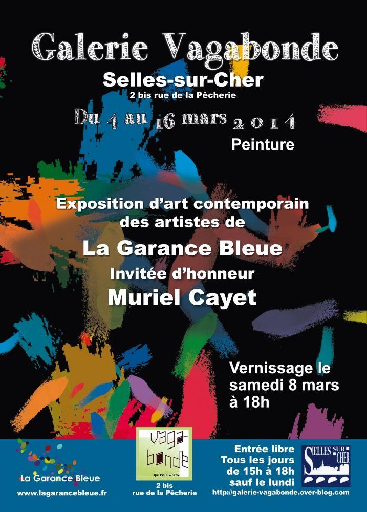 A la Galerie Vagabonde de Selles sur Cher (41)