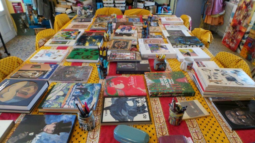 Un atelier Histoire de l'art un jour de février à Mareuil
