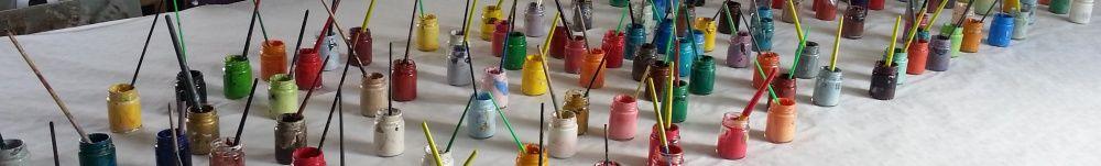 Atelier couleurs à l'atelier de Mareuil