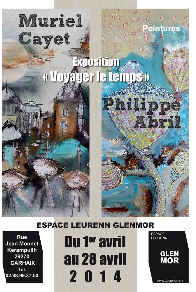 Muriel Cayet et Philippe Abril - Exposition Voyager le temps