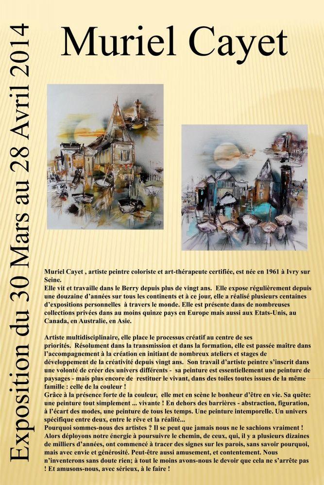 Exposition tout le mois d'avril à l'Espace Culturel Leclerc de Montmorillon