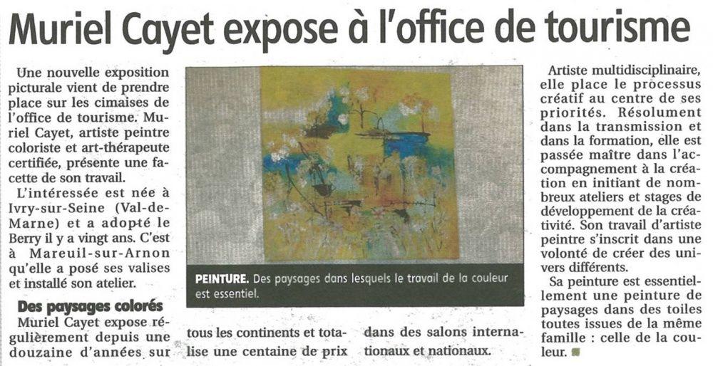 Exposition à Châteaumeillant