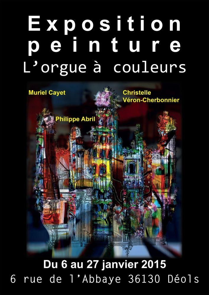 L'orgue à couleurs -Déols Janvier 2015