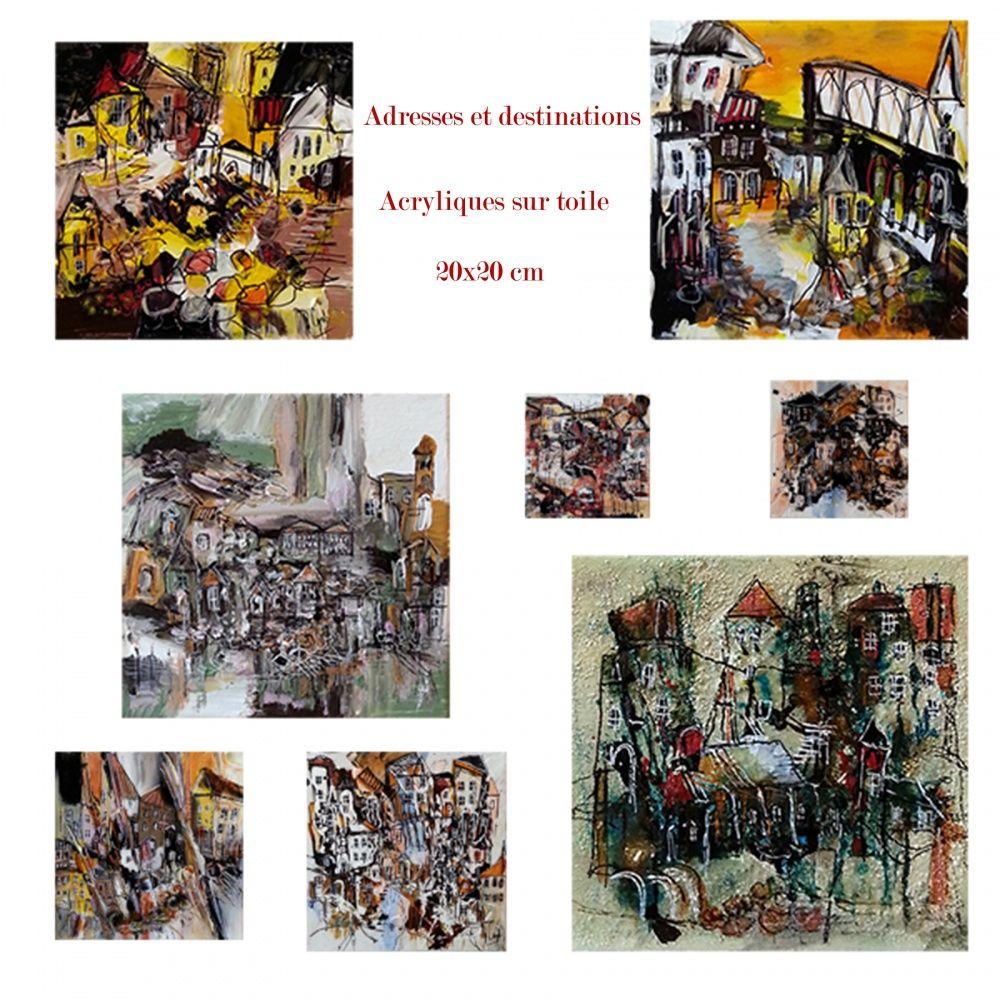 Expositions permanentes et personnelles 2015
