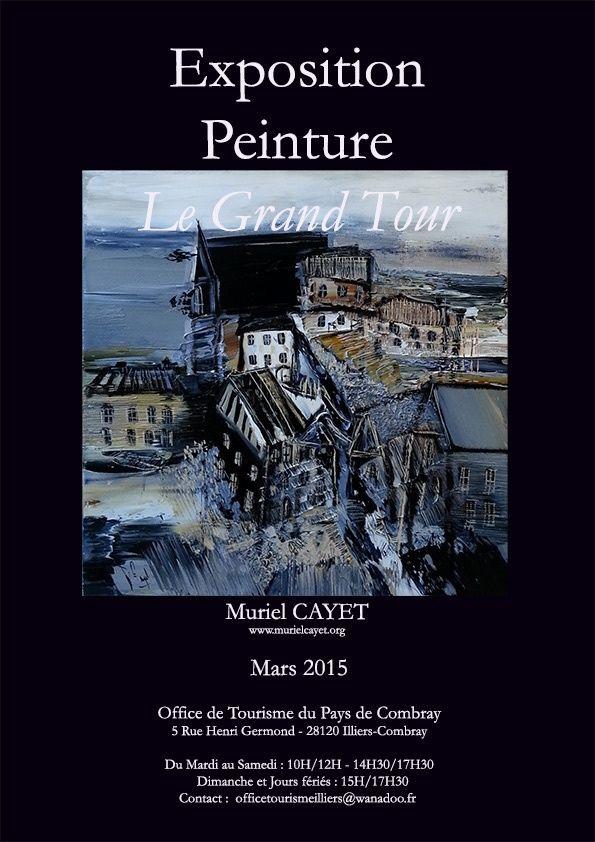 Exposition en mars 2015 à l'Office de Tourisme du Pays de Combray