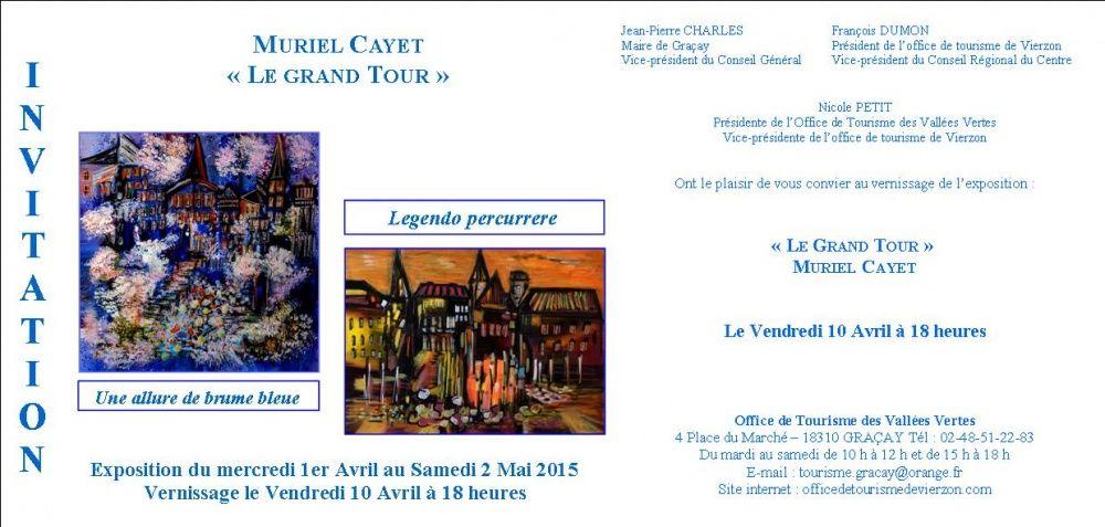 Exposition à l'Office de Tourisme de Graçay (18)