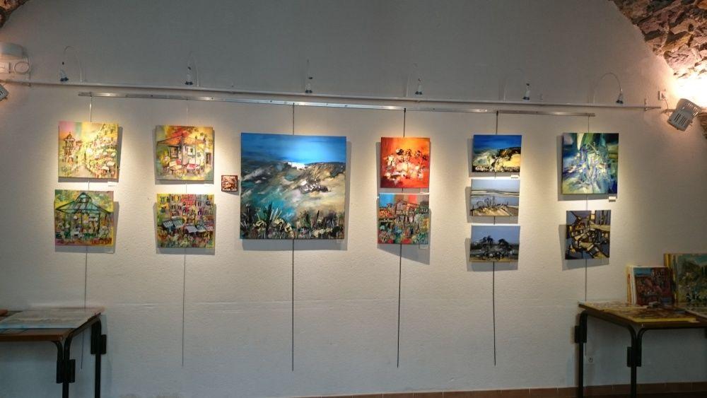 Exposition à Anduze en compagnie de Philippe et Francis ABRIL - Août 2015
